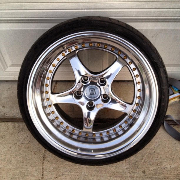Speedline Shelby Series 1 Wheels 18x10 +47, 18x12 +28 ...