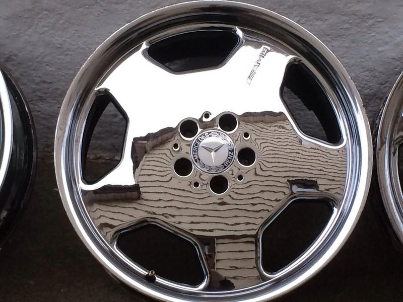 Bridgestone Potenza Re050A >> AMG Monoblock Aero II 19x8.5 +46, 5x112 by John F. › WheelFlip.com