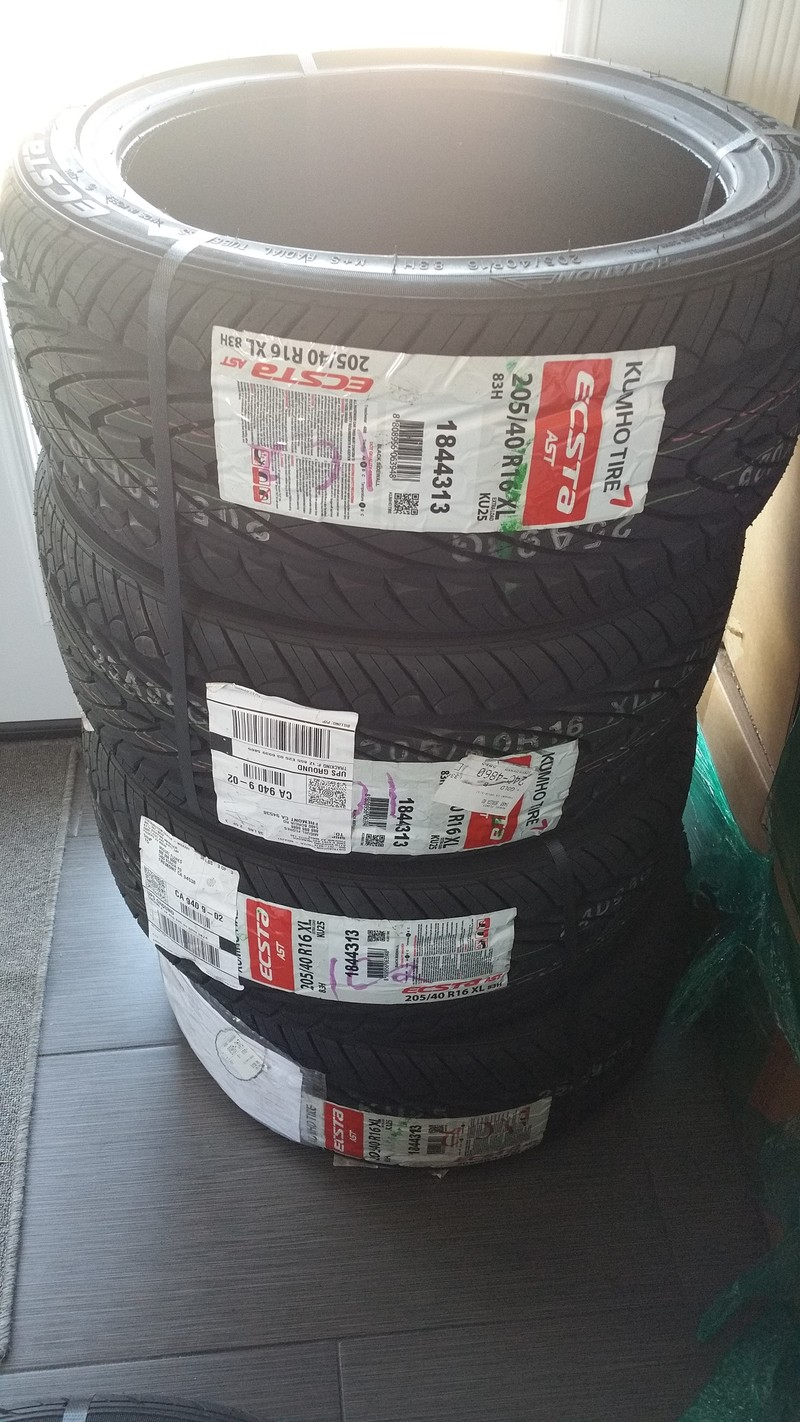 Kumho tires shaved derived